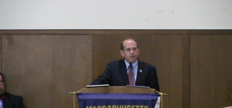 Alumni Night with Representative David Vieira – Video